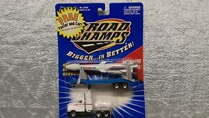 Road Champs NASA Semi Trailer with Missile Launcher Bigger is Better Die Cast