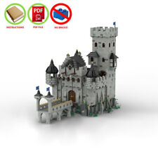 LEGO MOC PDF Instructions (NO BRICKS) - The Crusader's Fortress