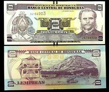 Honduras 2 Lempiras Year 2012 Banknote World Paper Money Unc