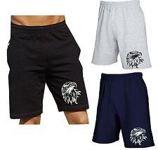 Caballeros deporte señora casual shorts Bermuda Cargo Capri pantalones cortos águila nuevo