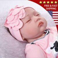 Reborn Dolls Real Baby Doll Realistic Silicone Vinyl Lifelike Gifts 22'' Dolls