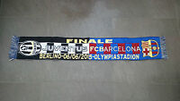 Bufanda Juventus Barcelona Original Olympiastadion Juve Final Conmemorativa