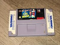 The Ren & Stimpy Show Time Warp Super Nintendo Snes Cleaned & Tested Authentic