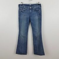 7 for all mankind jeans womens A pocket 7fam 26 light wash distressed bootcut