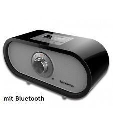 LENUSS Dolomit BT -  mit DAB/DAB+/DMB/UKW/Bluetooth Tischradio Hochglanz schwarz