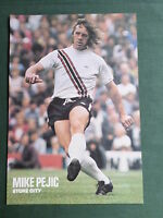 MIKE PEJIC  - STOKE CITY -1 PAGE PICTURE- CLIPPING/CUTTING