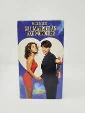 So I Married An Axe Murderer VHS 1993 Comedy Romance Mike Myers