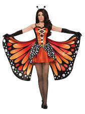 Miss FARFALLA MONARCA Donna Fancy Dress Party Vestito