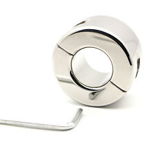 *** THE BIG ONE STAINLESS STEEL BALL WEIGHT TESTICLE STRETCHER 935G CBT ***