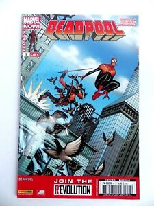 Magazine Marvel Now Deadpool No ° 5 Eight Kick Feet Mars 2014 Fr Panini
