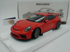 "Minichamps 110067022 - PORSCHE 911 (991) GT3 Baujahr 2017 "" Lavaorange "" 1:18"