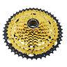 VG Sports Mountain Bike MTB 10 Speed Cassette 46T Gold Freewheel Sprocket 575g