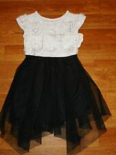 Dresses Girls clothing Party dress Outfits Fancy clothes Black White Sparkle 4/5
