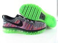 Nike Air Flyknit Max 90 Multicolor White Black Green US_11.5 UK_10.5 Eur_45.5