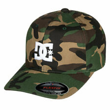 DC Shoes CALM MID White Black Embroidered Baseball Cap Discounted Men/'s Hat