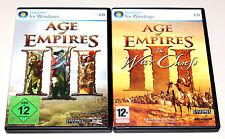 AGE OF EMPIRES III - GOLD EDITION - WAR CHIEFS - PC ERSTAUSGABEN MIT HANDBUCH