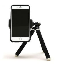 Fotopro iPhone Smartphone Tripod Mount and Flexible Tripod Combo
