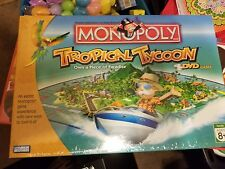 Monopoly Tropical Tycoon DVD Game  New Sealed