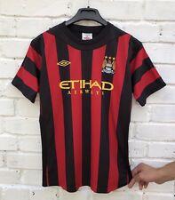 FC MANCHESTER CITY 20112012 AWAY FOOTBALL JERSEY TRIKOT SOCCER SHIRT BOYS
