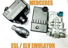 MERCEDES W204 ESL REPAIR EMULATOR PROGRAMMING SERVICE ELV EMULATOR PROGRAMMING