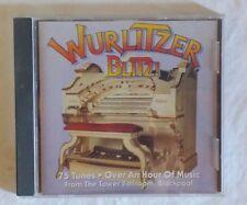 DAVID LOBBAN - WURLITZER BLITZ - 75 TUNES - OVER AN HOUR OF MUSIC - CD