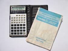 Scientific Calculator CASIO fx-3800P, wissenschaftlicher Taschenrechner #224