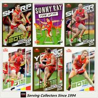 2012 Herald Sun AFL Trading Cards Base Card Team Set Gold Coast(12)