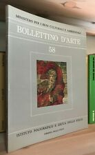 Bollettino d'Arte n. 58 Novembre-Dicembre 1989