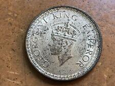 British - India 1944 (b) Silver One Rupee KM# 557.1