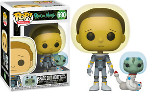 Rick and Morty Morty in Space Suit with Snake POP! Vinyl NEW