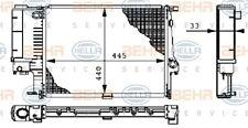 Motorkühler Wasserkühler HELLA 8MK 376 711-084 für E36 Z3 BMW E30 3er Compact