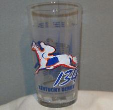 Kentucky Derby 134 Churchill Downs 2008 Horse Racing Drinking Glass
