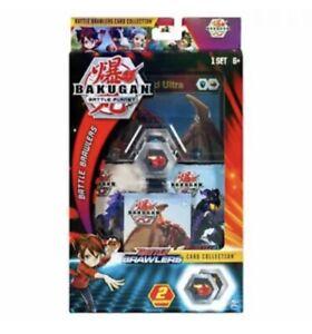 BAKUGAN Battle Planet *BATTLE BRAWLERS CARD COLLECTION* Dragonoid Bakucores NEW
