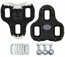 Look Keo Bi-Material Black Cleats 0 Degree Float with Hardware