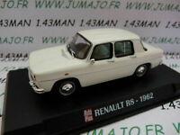 AP3 Voiture 1/43 IXO AUTO PLUS : RENAULT R8 1962 blanche