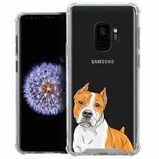 For (Samsung Galaxy S9) Slim Tough Clear Shock Bumper Flex Tpu Case Set10