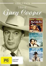 Gary Cooper - Films of New and Sealed DVD 3 Disc Set