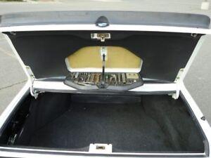 BMW e28 5er M Technik Evo bootlid BOOT LID TRIM panel M535i S38 Mtech 528 Shark
