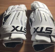 Stx Men's Cell Iv Lacrosse Gloves White Size Large