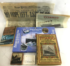 The Sinking Of The Titanic 1st Edition C.1912 Lot 2113