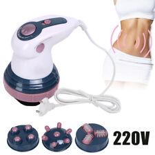 4 Tête Infrarouge Appareil de Massage Body Anti-cellulite Minceur Masseur Corps