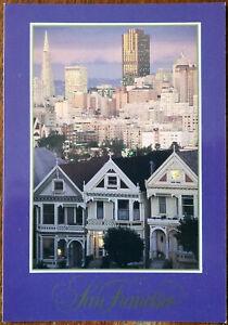 San Francisco Beautiful Victorian Homes, Golden Gate Greetings Postcard