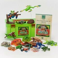 Tropical Rain Forest Frogs PVC figure Set 16 kinds of Frogs In Box Colorata
