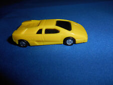 LAMBORGHINI 1 Yellow DIABLO Plastic Kinder TOY VEHICLE Exotic Sports Super CAR