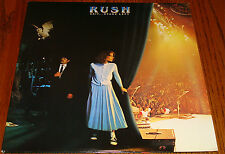 RUSH EXIT STAGE LEFT ORIGINAL JAPAN LP 2-RECORD SET WITH INSERT