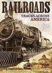 Railroads Tracks Across America (2-DVDs)-Train History-Includes 36 Documentaries