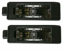 DS DS3 2015-> Number Plate Licence Lamp Pair Left & Right