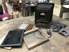 Afga Ansco 8x10 View Camera With Extra Lensboards, 5x7 Reduction Back And More