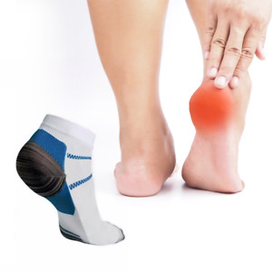 Plantar Fasciitis Heel Arch Pain Relief Support Compression Unisex Ankles Socks