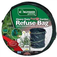 73L Heavy Duty Pop Up Collapsible Garden Refuse Waste Rubbish Bag Bin 44 X 48cm
